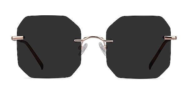 Elmira Rose Gold Metal Sunglass Frames