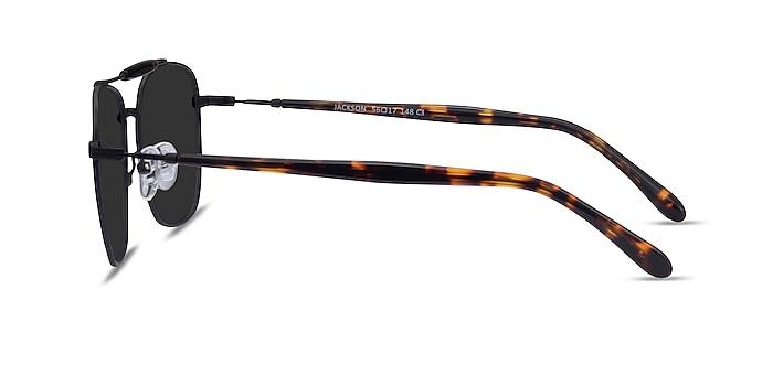 Jackson Black Tortoise Metal Sunglass Frames from EyeBuyDirect