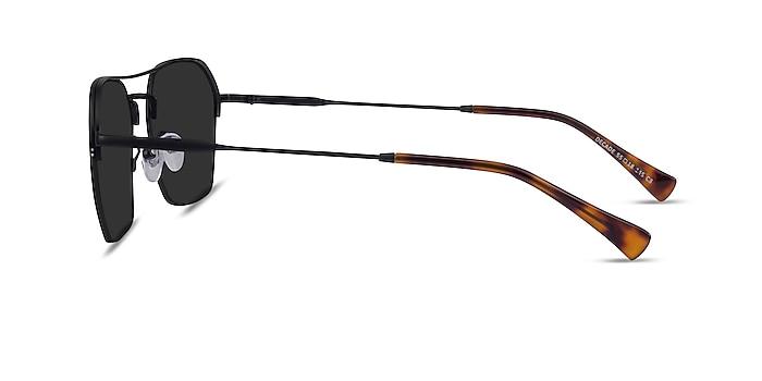 Decade Black Metal Sunglass Frames from EyeBuyDirect