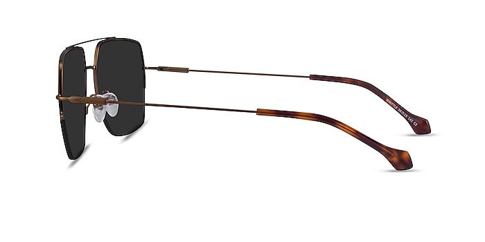 Whittle Bronze Metal Sunglass Frames from EyeBuyDirect