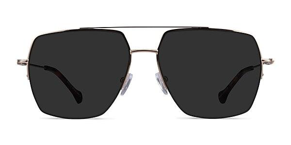 Whittle Gold Metal Sunglass Frames
