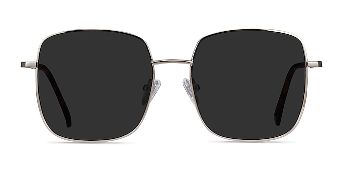 Sunday Silver Metal Sunglass Frames from EyeBuyDirect