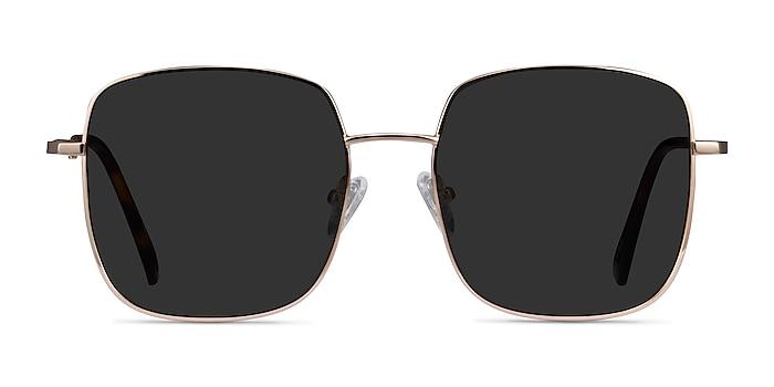Sunday Gold Metal Sunglass Frames from EyeBuyDirect