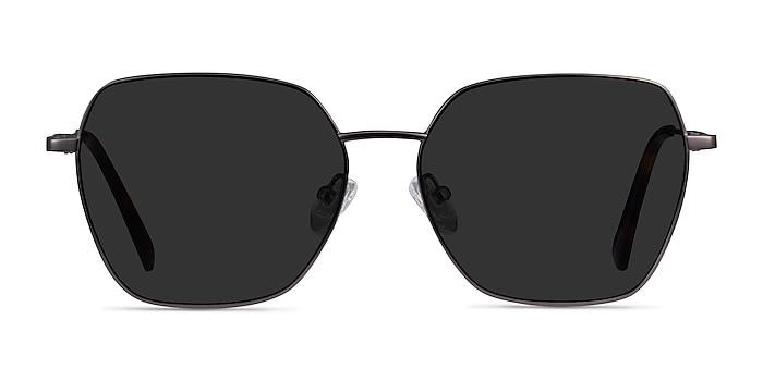 Ginza Gunmetal Metal Sunglass Frames from EyeBuyDirect