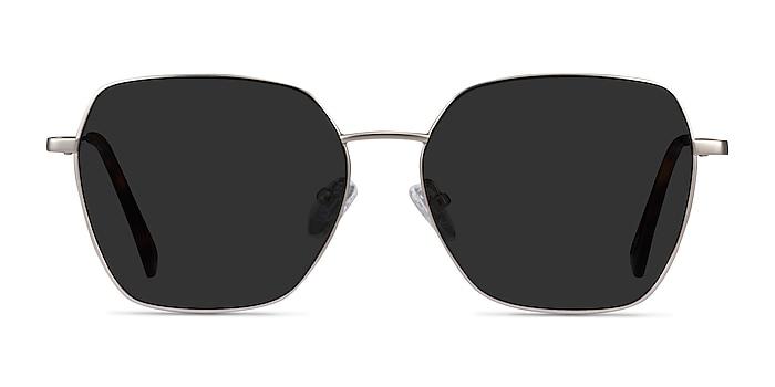 Ginza Silver Metal Sunglass Frames from EyeBuyDirect