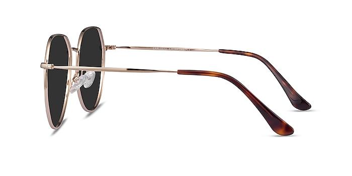 Carlsbad Gold Metal Sunglass Frames from EyeBuyDirect
