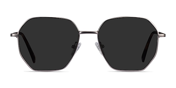 Lenox Gunmetal Metal Sunglass Frames