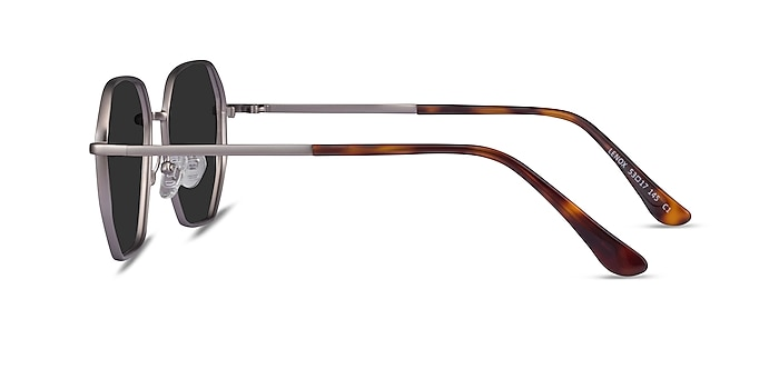 Lenox Gunmetal Metal Sunglass Frames from EyeBuyDirect