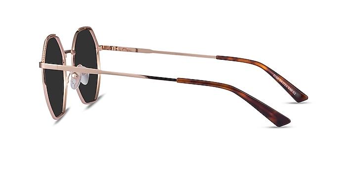 Elsa Rose Gold Metal Sunglass Frames from EyeBuyDirect