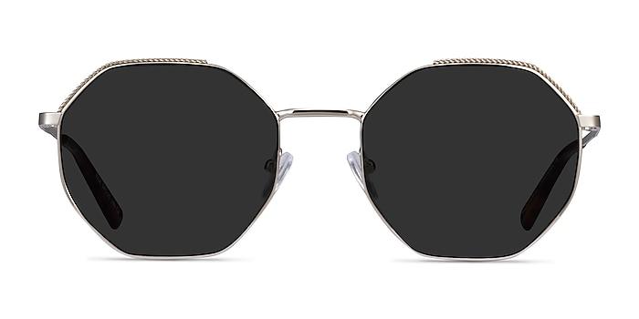 Elsa Silver Metal Sunglass Frames from EyeBuyDirect