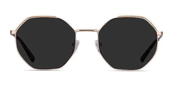 Elsa Gold Metal Sunglass Frames