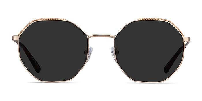 Elsa Gold Metal Sunglass Frames from EyeBuyDirect
