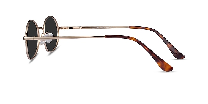 Culture Gold Metal Sunglass Frames from EyeBuyDirect