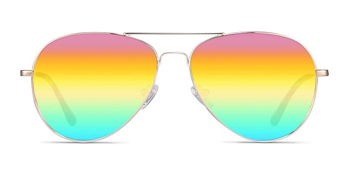 Haight Gold Metal Sunglass Frames from EyeBuyDirect