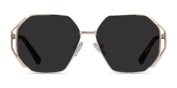 Obscura Gold Metal Sunglass Frames