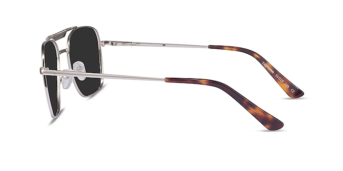 Eastman Silver Metal Sunglass Frames from EyeBuyDirect
