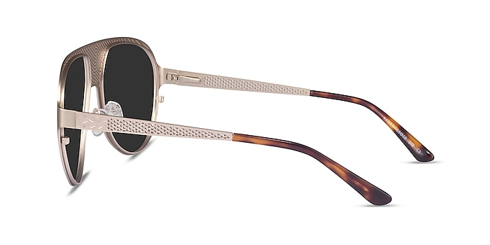Radar Silver Metal Sunglass Frames from EyeBuyDirect
