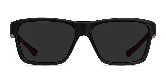 Win Black & Red Plastique Soleil de Lunette de vue d'EyeBuyDirect