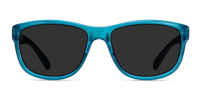 Determined Blue Plastic Sunglass Frames from EyeBuyDirect