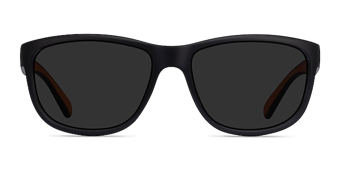 Determined Black Plastic Sunglass Frames from EyeBuyDirect