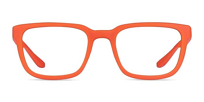 Fast Matte Orange Plastique Montures de lunettes de vue d'EyeBuyDirect