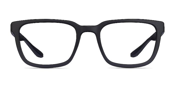 Fast Matte Black Plastic Eyeglass Frames from EyeBuyDirect