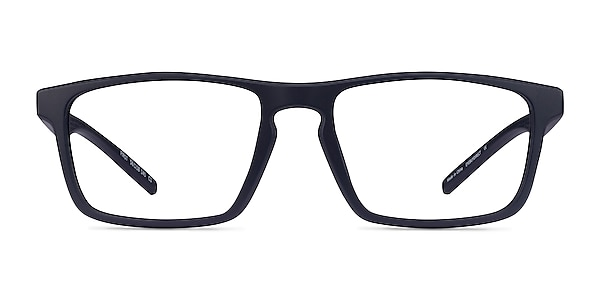 First Navy Plastic Eyeglass Frames