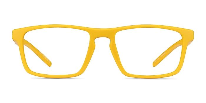 First Jaune Plastique Montures de lunettes de vue d'EyeBuyDirect
