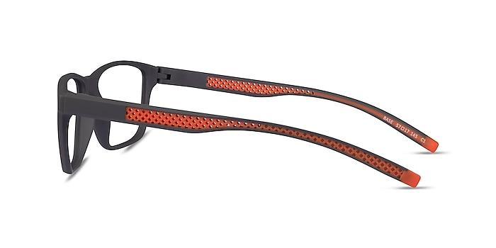 Base Gray Orange Plastique Montures de lunettes de vue d'EyeBuyDirect