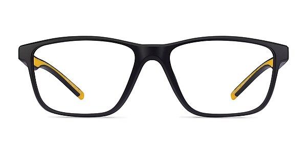 Base Black Yellow Plastic Eyeglass Frames