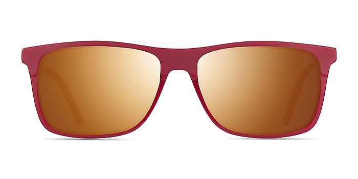 Catch Matte Red Acetate Sunglass Frames from EyeBuyDirect