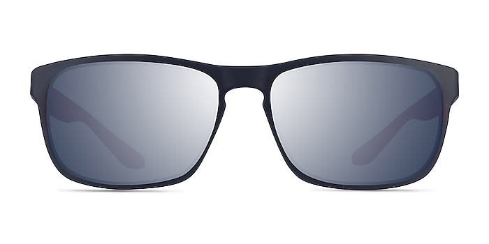 Kick Matte Blue Red Plastic Sunglass Frames from EyeBuyDirect