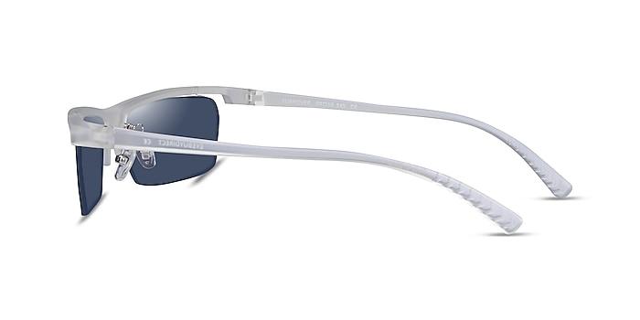 Turnover Matte Clear Plastique Soleil de Lunette de vue d'EyeBuyDirect