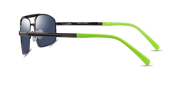Punt Gunmatel Green Acetate Sunglass Frames from EyeBuyDirect