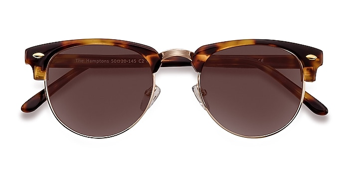 Golden Tortoise The Hamptons -  Acetate, Metal Sunglasses