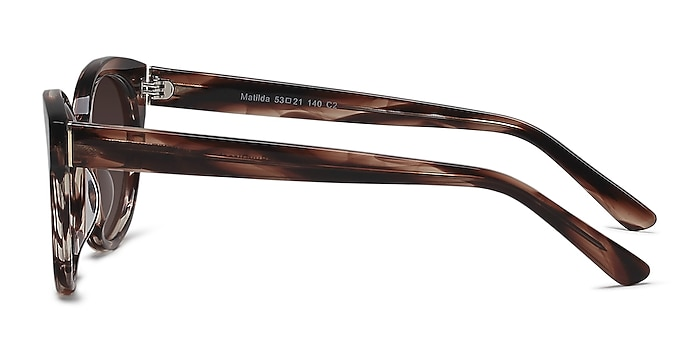 Matilda Brown/Tortoise Acetate Sunglass Frames from EyeBuyDirect