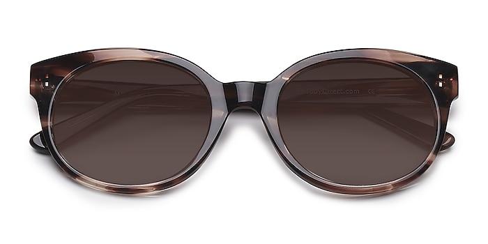 Brown/Tortoise Matilda -  Vintage Acetate Sunglasses