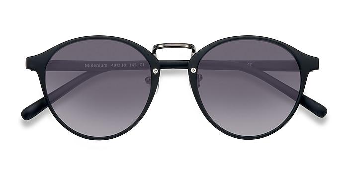 Matte Black Millenium -  Plastique Lunettes de soleil