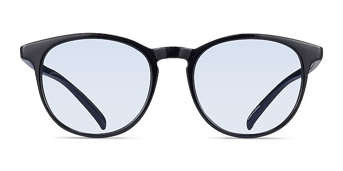 Deja Vu Black Plastic Sunglass Frames from EyeBuyDirect