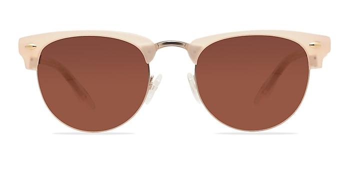 The Hamptons Matte Beige Acetate-metal Sunglass Frames from EyeBuyDirect