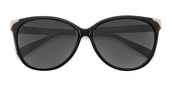 Black Lima -  Vintage Acetate Sunglasses