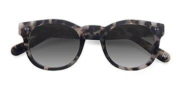 Marbled Tortoise Horizon -  Vintage Acetate Sunglasses