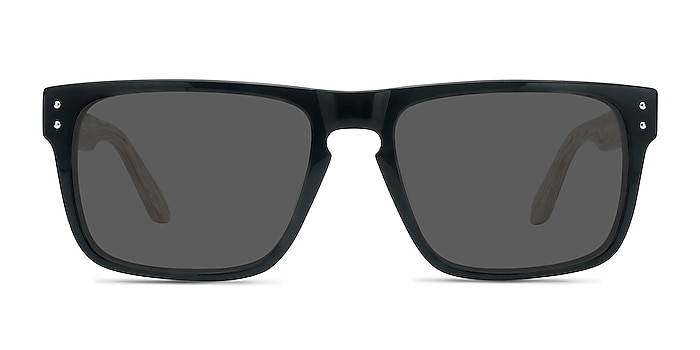 Sergi Black Yellow Acetate Sunglass Frames from EyeBuyDirect