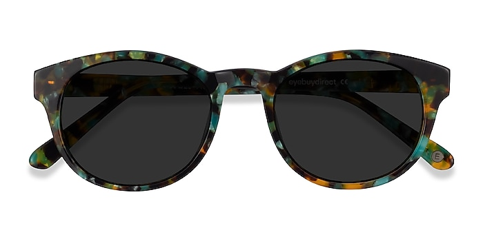 Green Tortoise Coppola -  Vintage Acetate Sunglasses