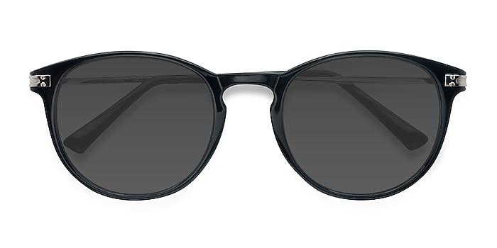 Noir Monroe -  Plastic, Metal Lunettes de soleil