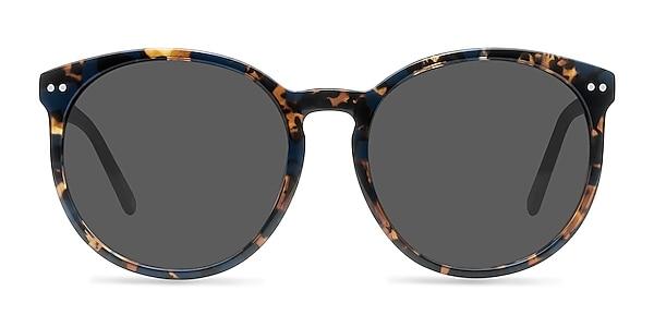 Vapor Blue Floral Acetate Sunglass Frames