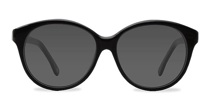 Stella Dark Gray Acetate Sunglass Frames from EyeBuyDirect