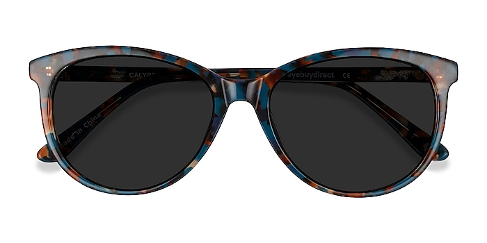 Floral Calypso -  Vintage Acetate Sunglasses