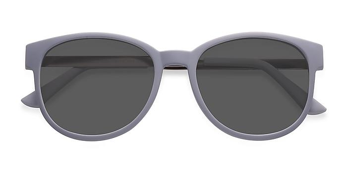 Matte Gray Terracotta -  Plastic, Metal Sunglasses