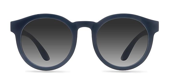 Oasis Matte Navy Plastic Sunglass Frames from EyeBuyDirect